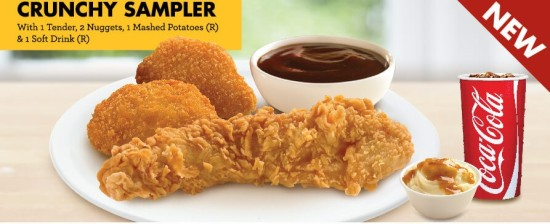 Crunchy sampler set